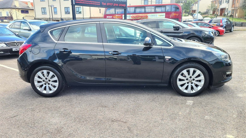 used Vauxhall Astra ecoFLEX Tech Line (s/s)