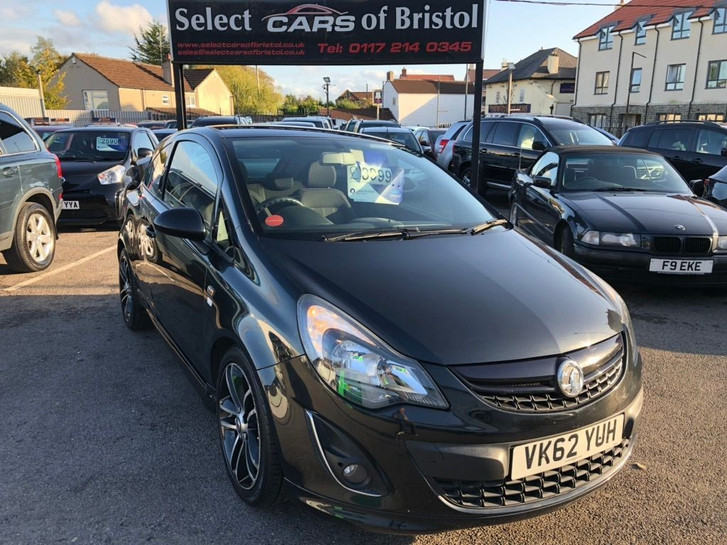 used Vauxhall Corsa i 16v Black Edition Hatchback 3dr Manual (s/s) (a/c) (129 g/km, 118 bhp)