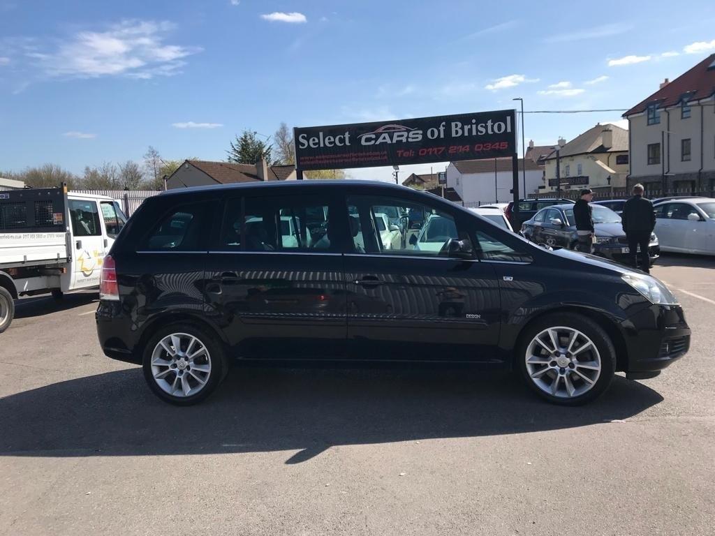 used Vauxhall Zafira CDTi 16v Design 5dr