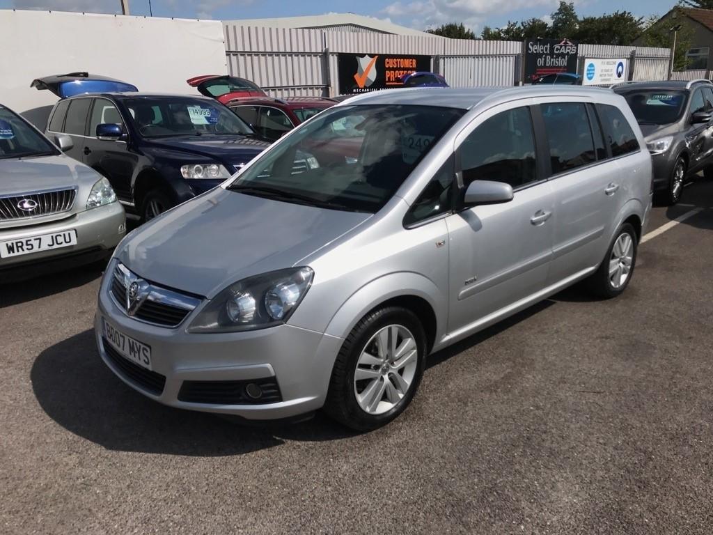 used Vauxhall Zafira i 16v Design 5dr