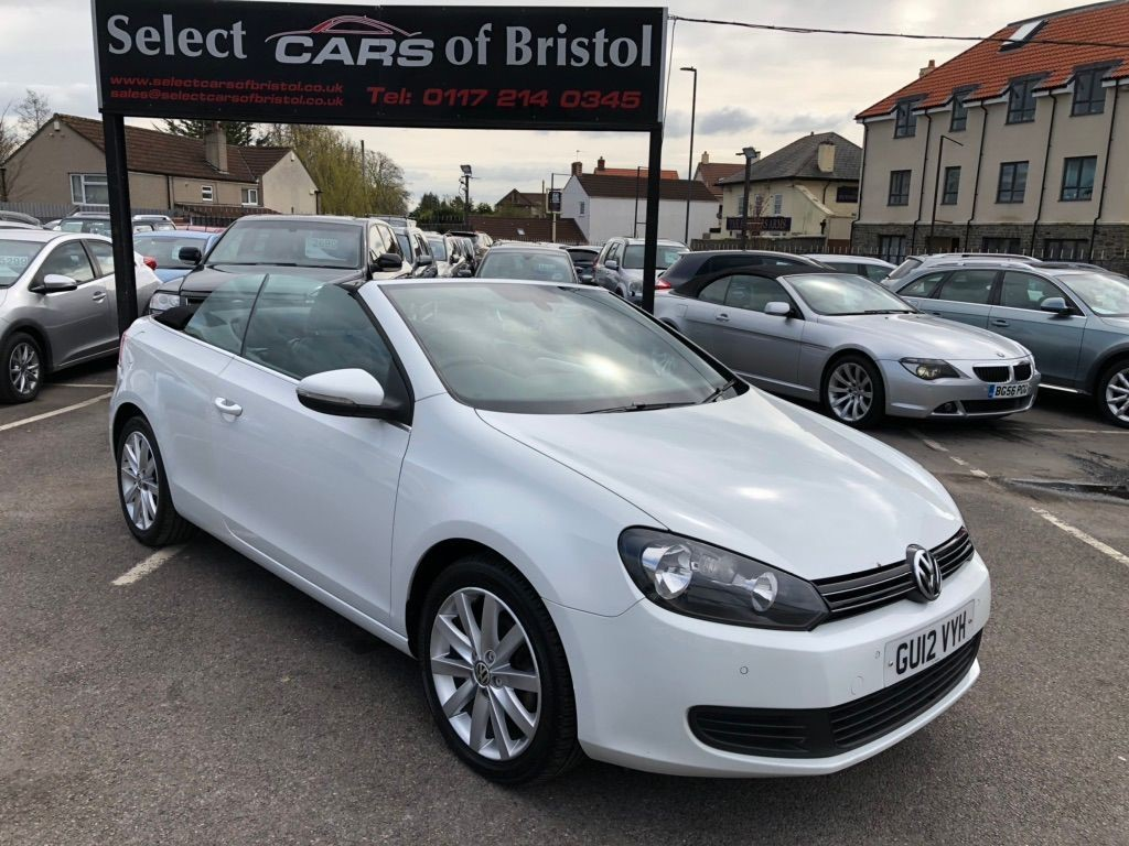 used VW Golf S Cabriolet
