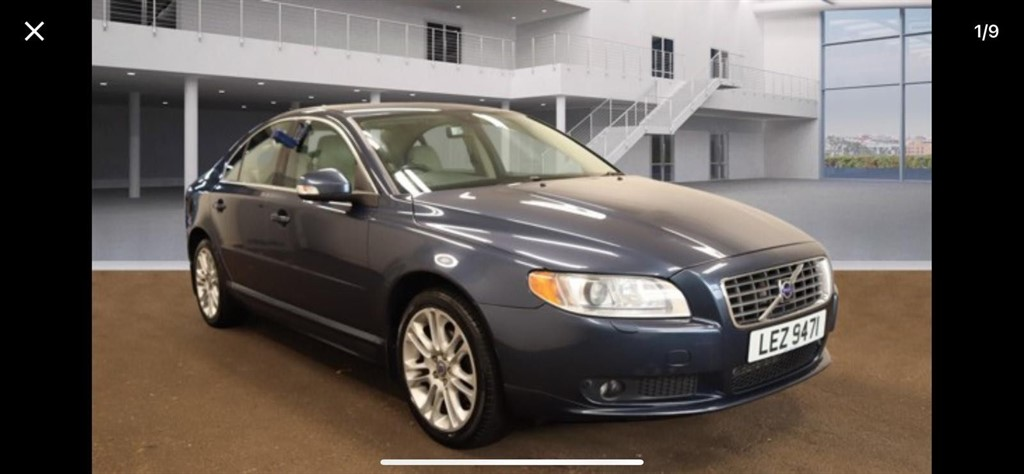 used Volvo S80 D5 SE Lux Geartronic