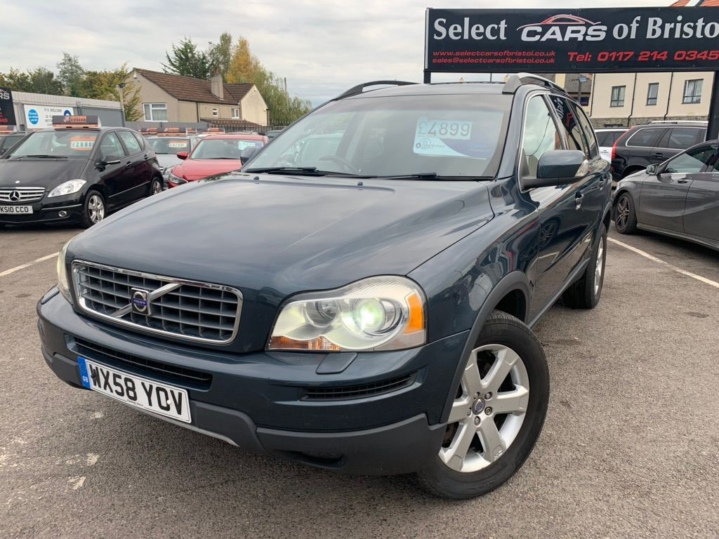used Volvo XC90 D5 S Geartronic AWD 5dr