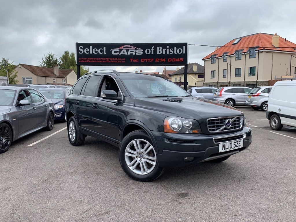 used Volvo XC90 D5 SE SUV 5dr Manual AWD (219 g/km, 182 bhp)