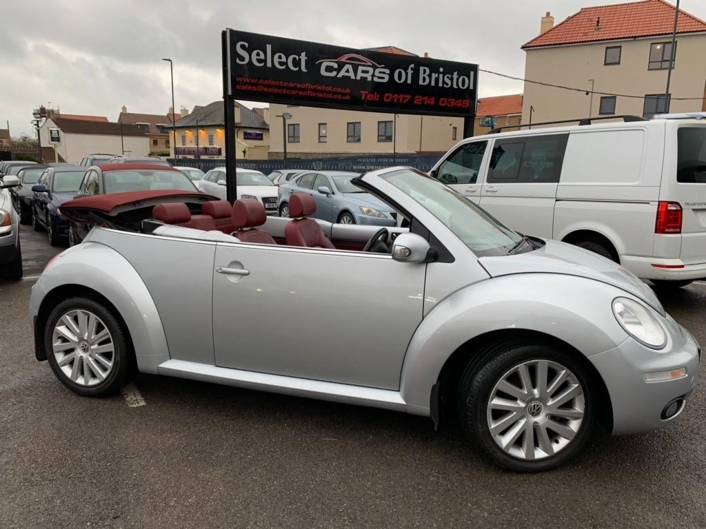 used VW Beetle Sola Cabriolet 2dr