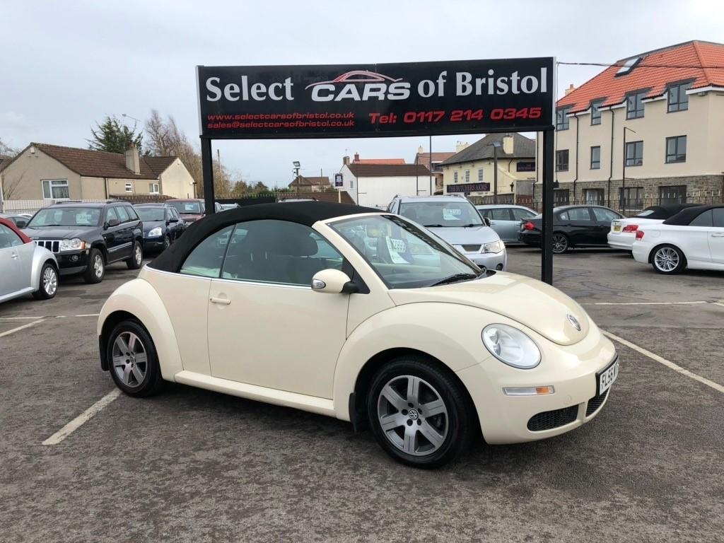 used VW Beetle Luna Cabriolet 2dr