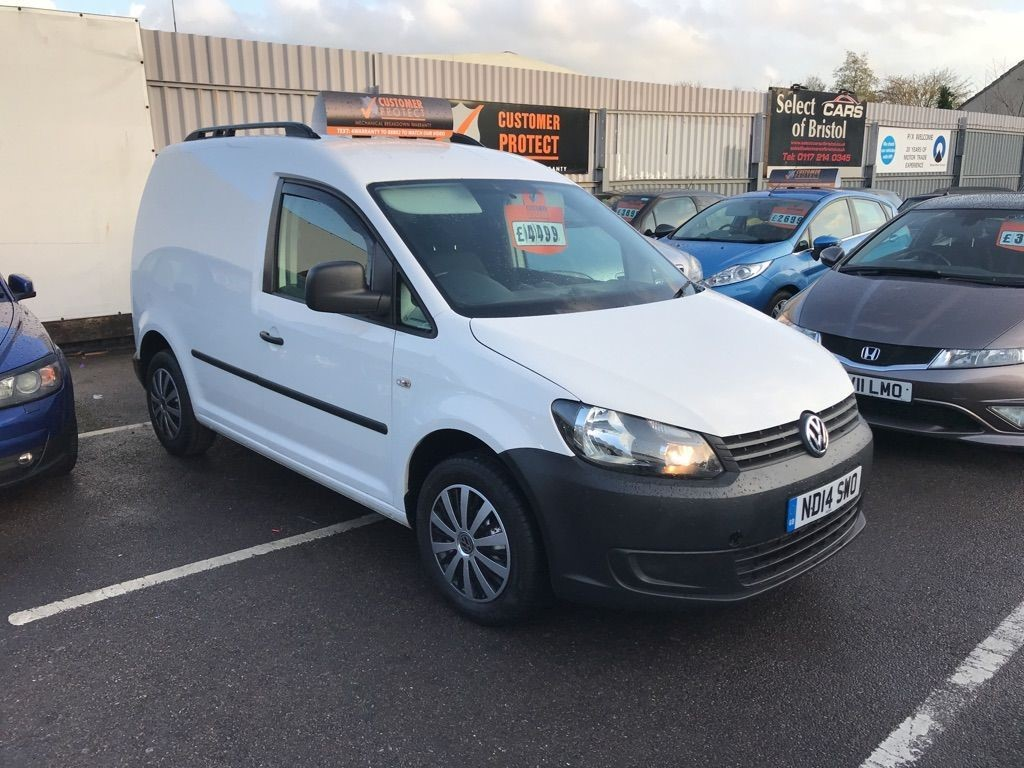 used VW Caddy TDI C20 Startline Panel Van 4dr