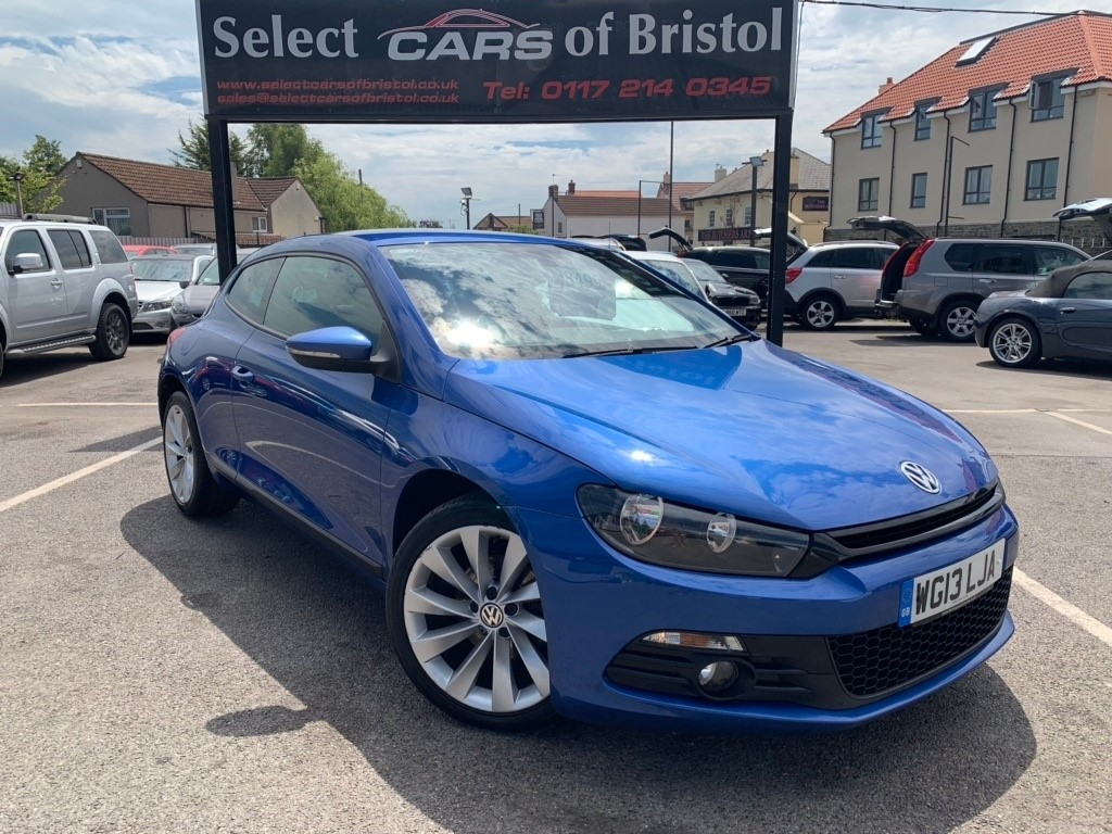 used VW Scirocco TDI BlueMotion Tech GT Coupe 3dr Manual (118 g/km, 138 bhp)