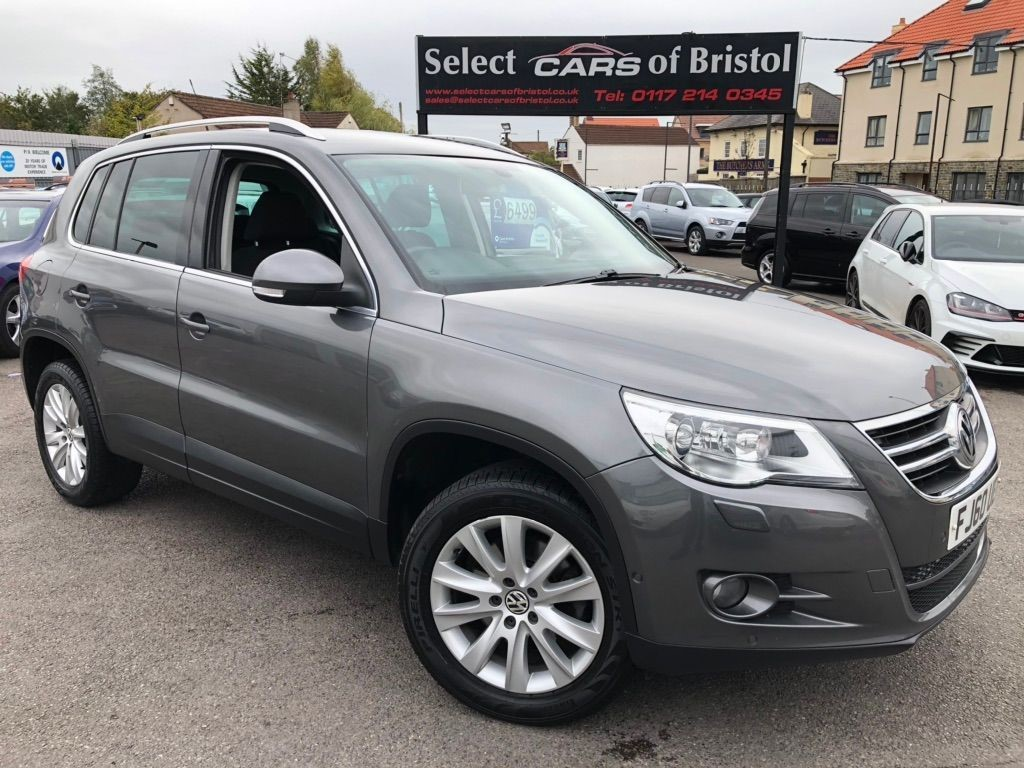 used VW Tiguan TDI Match SUV 5dr DSG 4MOTION (169 g/km, 138 bhp)