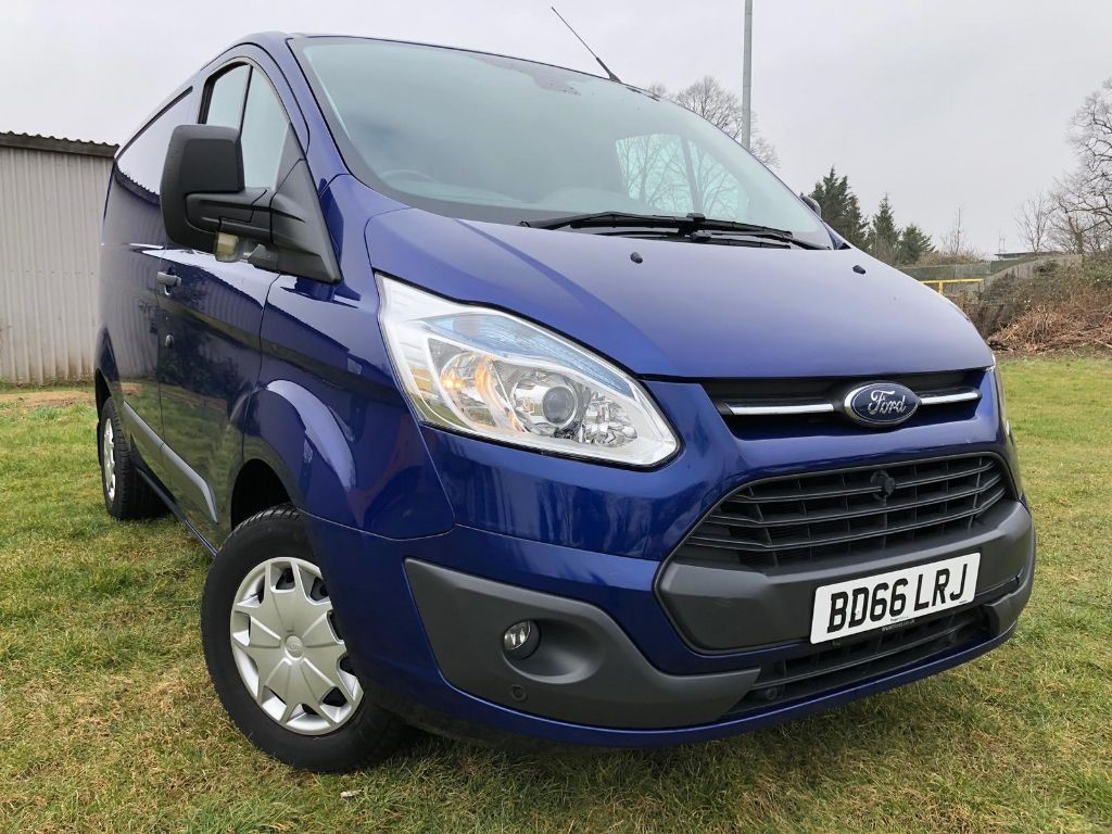 Used Deep Impact Blue Ford Transit Custom for Sale   Hertfordshire