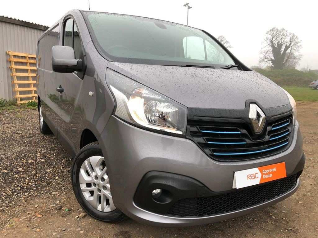 721f4e5b86 Used Grey Renault Trafic for Sale