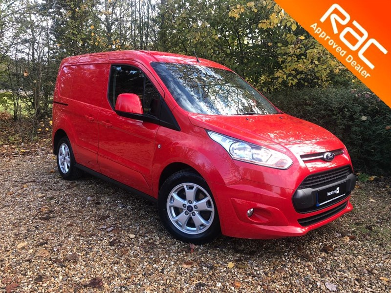 used Ford Transit Connect LIMITED van for sale in hitchin-hertfordshire