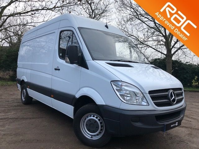 used Mercedes Sprinter 313 CDI MWB in hitchin-hertfordshire