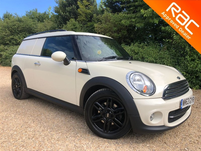 used MINI Clubvan COOPER D in hitchin-hertfordshire