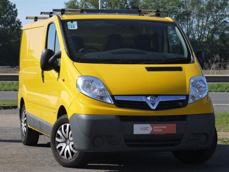 used Vauxhall Vivaro NO VAT VAN FOR SALE  in hitchin-hertfordshire
