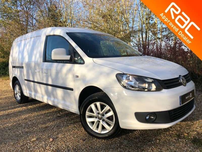 used VW Caddy Maxi C20 TDI HIGHLINE WITH TWIN SIDE LOADING DOORS in hitchin-hertfordshire