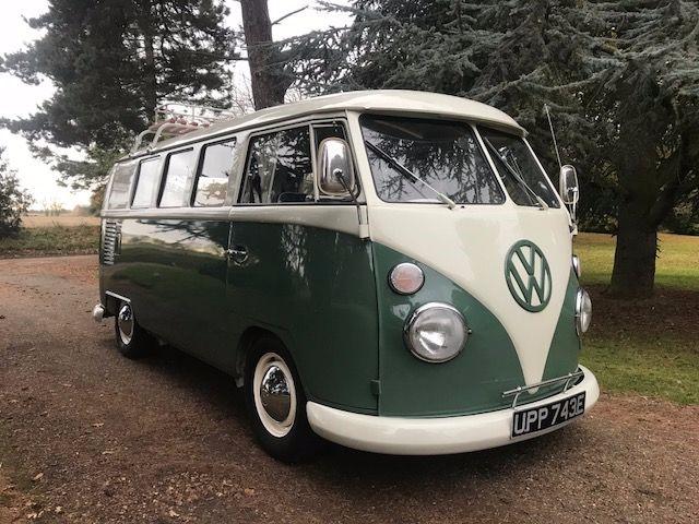 Used Velvet Green VW Type 2 For Sale