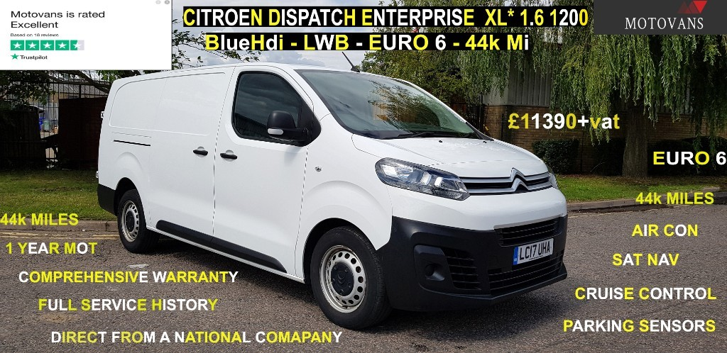 used Citroen Dispatch XL 1200 ENTERPRISE BLUEHDI in middlesex