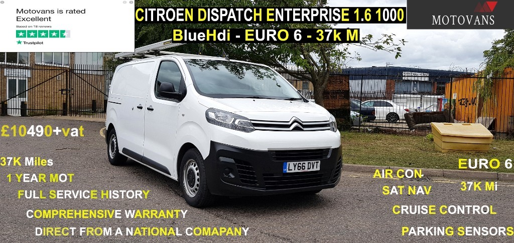 used Citroen Dispatch M 1000 ENTERPRISE BLUEHDI in middlesex
