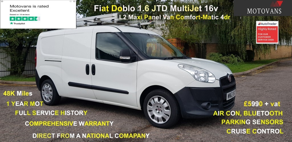 used Fiat Doblo 16V MULTIJET in middlesex
