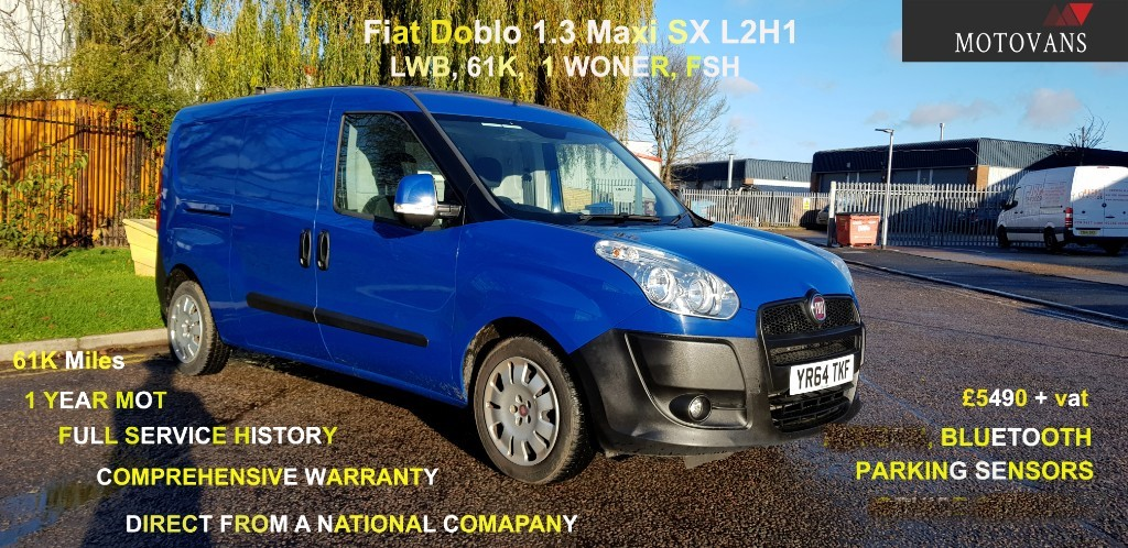 used Fiat Doblo 16V SX MULTIJET in middlesex
