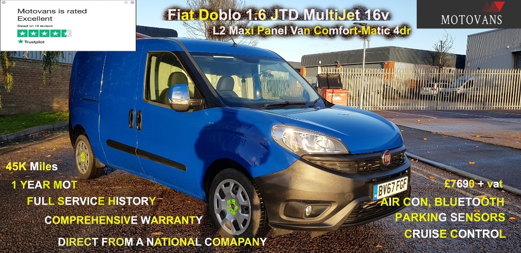 used Fiat Doblo 16V SX MAXI MULTIJET II in middlesex