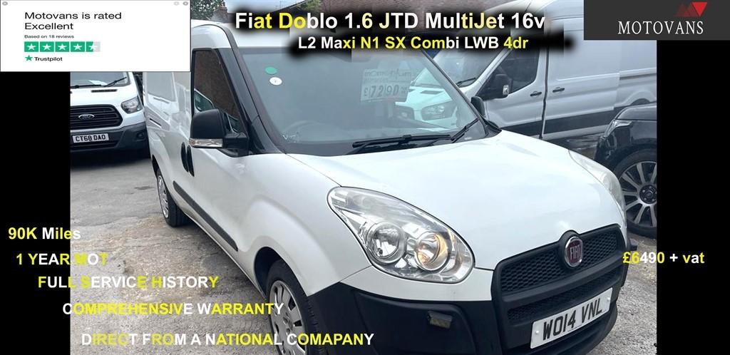 used Fiat Doblo 16V MAXI MULTIJET COMBI in middlesex