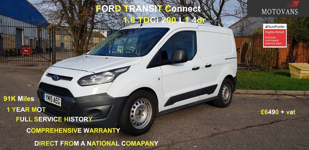 used Ford Transit Connect 200 P/V in middlesex