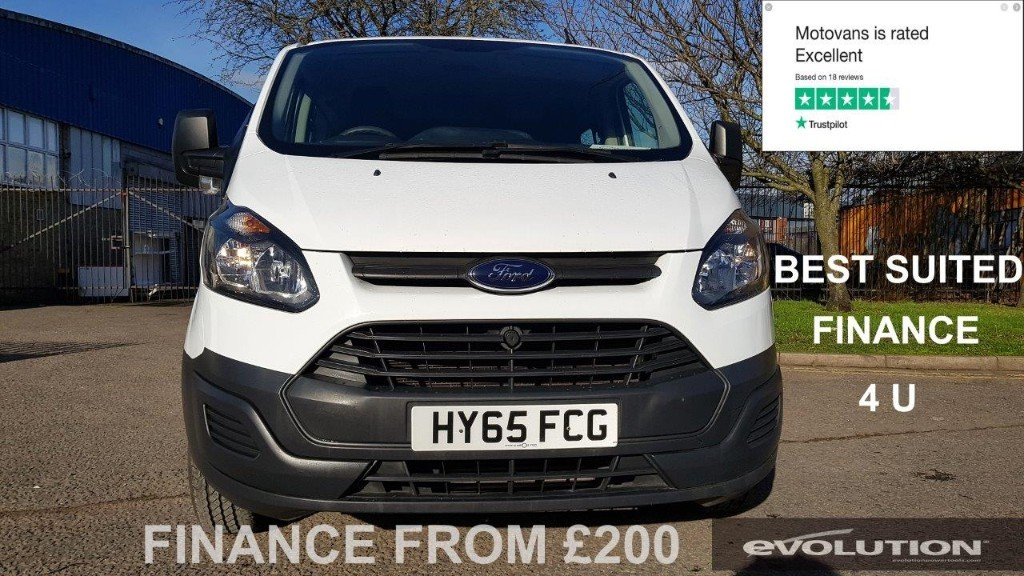 used Ford Transit Custom 290 LR DCB in middlesex