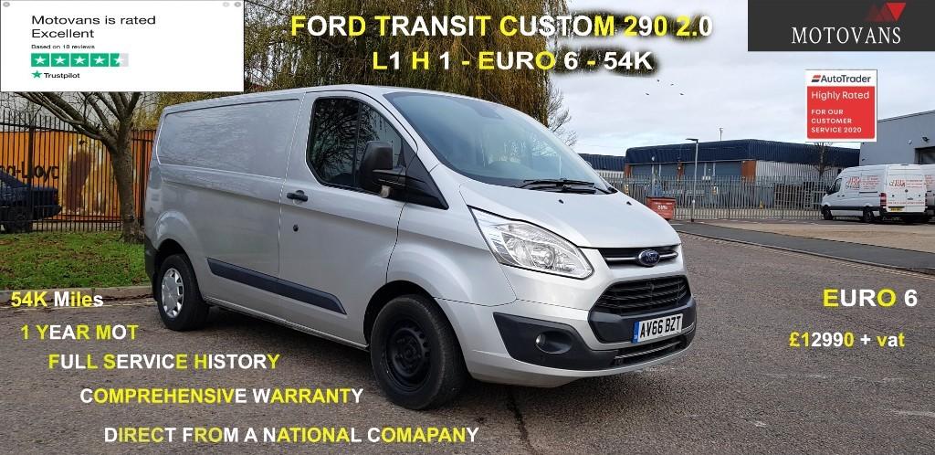 used Ford Transit Custom 290 TREND LR P/V in middlesex