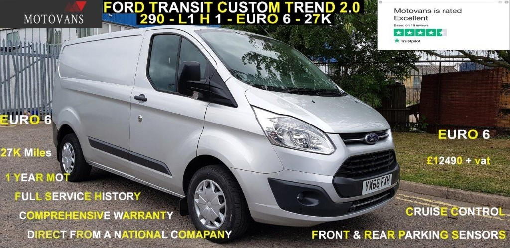 used Ford Transit Custom 270 TREND LR P/V in middlesex