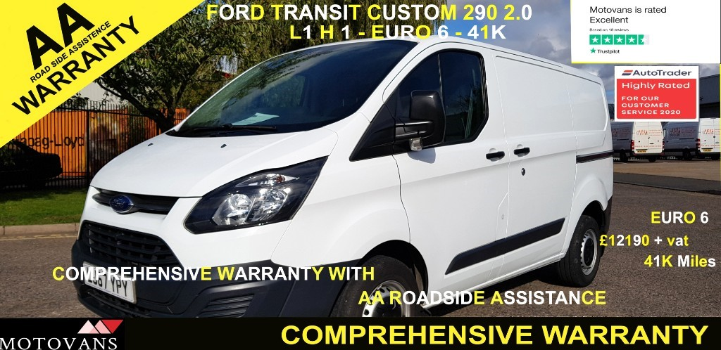 used Ford Transit Custom 290 LR P/V in middlesex