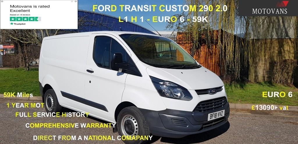 used Ford Transit Custom 290 LR P/V in middlesex