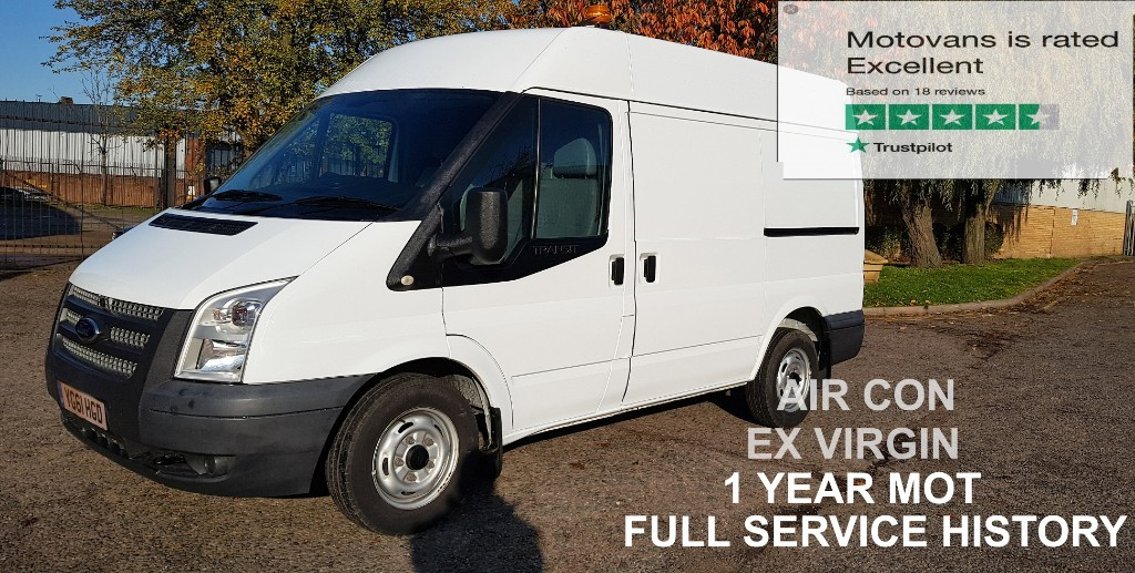 used Ford Transit 280 SHR P/V in middlesex