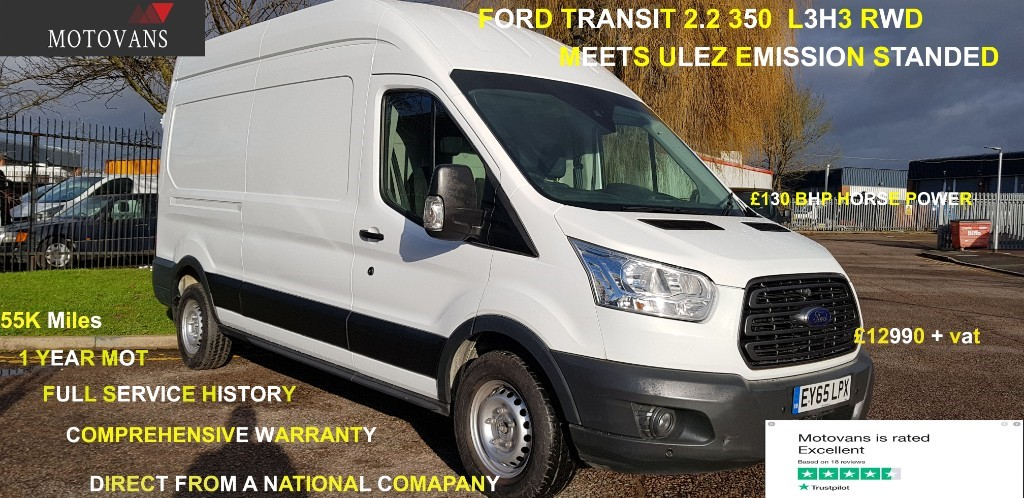 used Ford Transit 350 TREND H/R P/V in middlesex