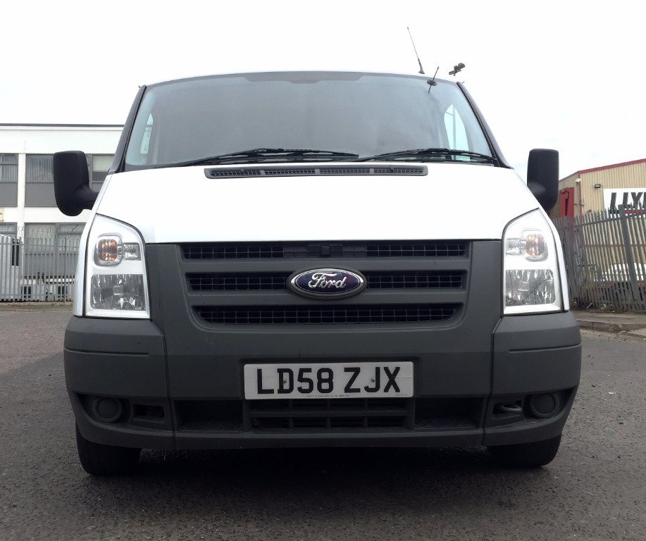 12 Ford Transit 2 2tdci 260s Swb: Used Red Ford Transit For Sale