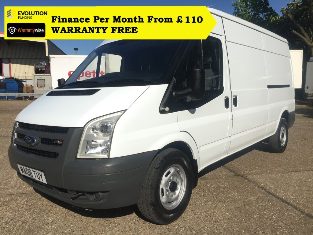 used Ford Transit 350 LWB SHR P/V 110 in middlesex