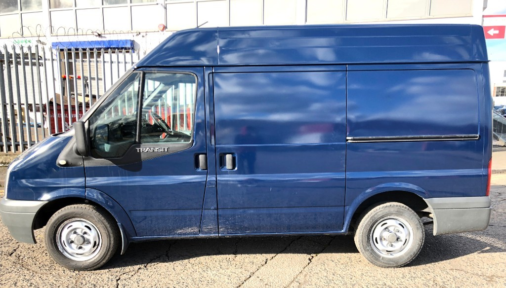 Used Frozen White Ford Transit For Sale Middlesex