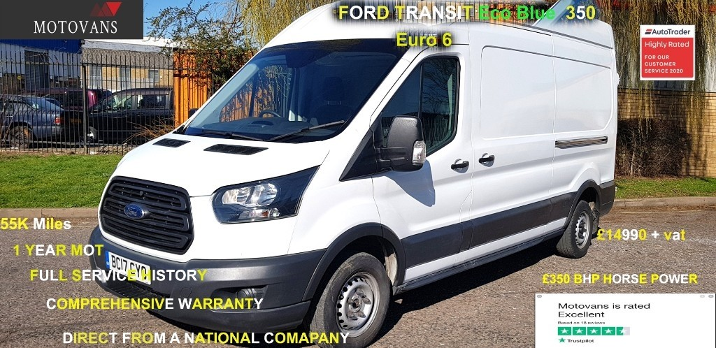 used Ford Transit 310 L3 H2 P/V in middlesex