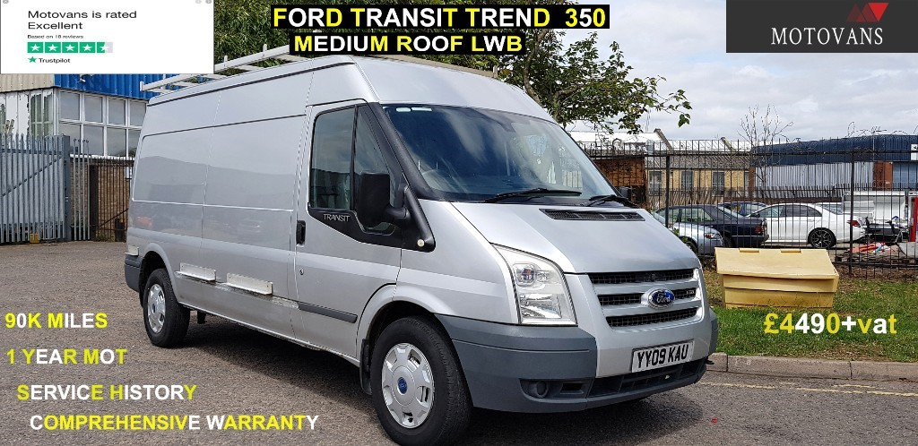used Ford Transit 350 TREND SHR P/V in middlesex