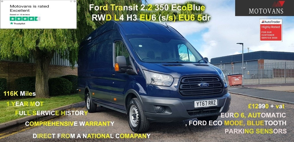 used Ford Transit 350 L4 H3 P/V DRW in middlesex