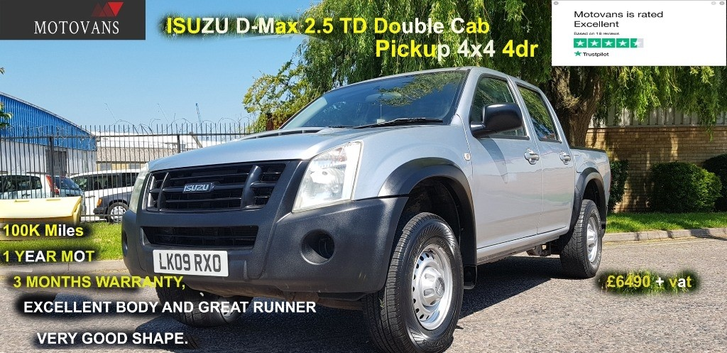 used Isuzu D-Max  in middlesex