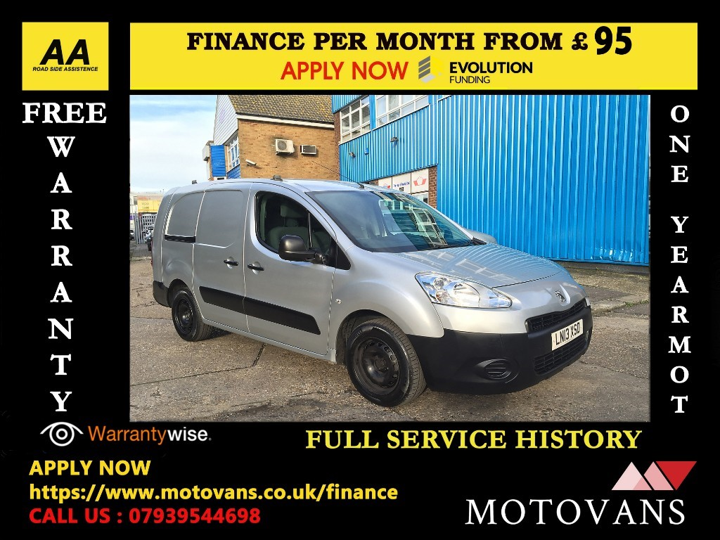 used Peugeot Partner E-HDI SE L2 750 in middlesex
