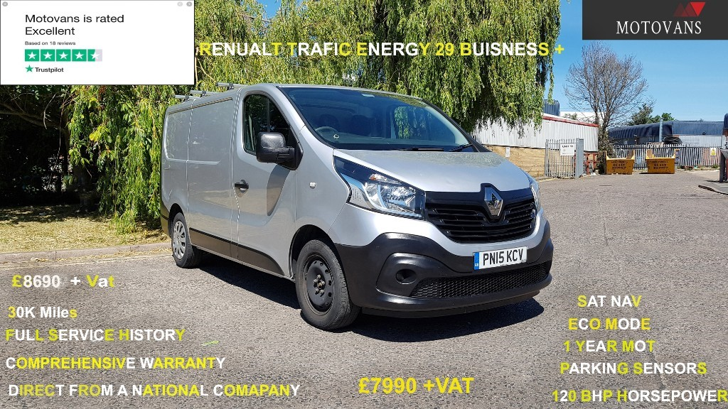 used Renault Trafic SL29 BUSINESS ENERGY DCI S/R P/V in middlesex