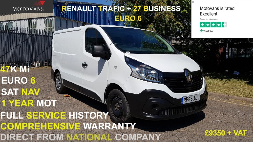 used Renault Trafic SL27 BUSINESS DCI in middlesex