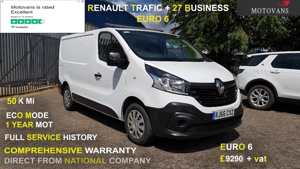 used Renault Trafic SL27 BUSINESS ENERGY DCI in middlesex