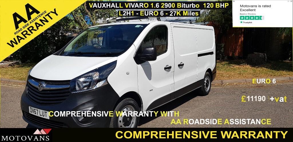used Vauxhall Vivaro L2H1 2900 CDTI in middlesex