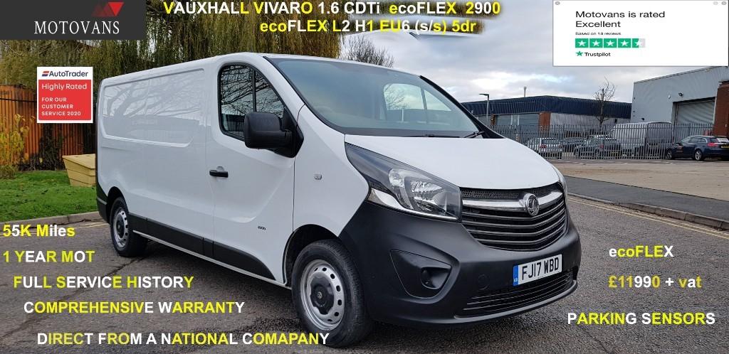 used Vauxhall Vivaro L2H1 2900 CDTI ECOFLEX S/S in middlesex
