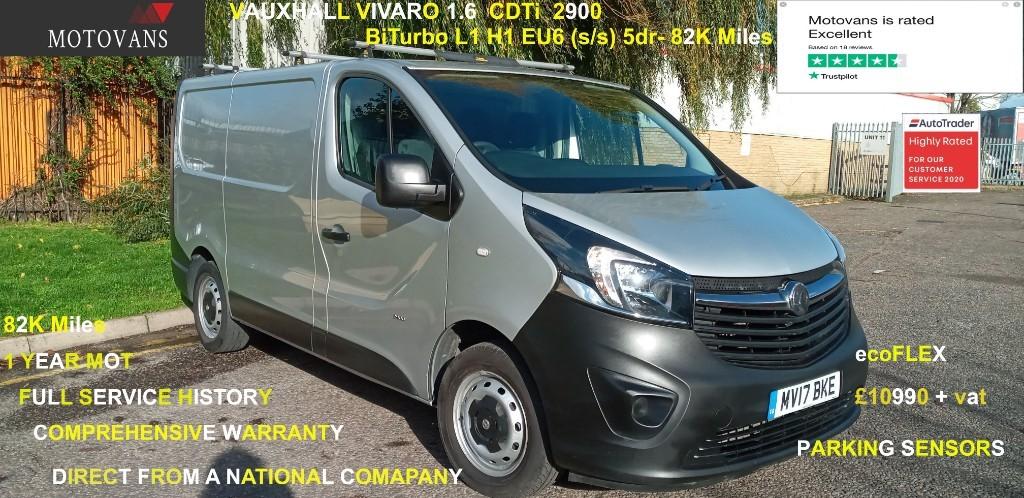 used Vauxhall Vivaro L1H1 2900 CDTI BITURBO S/S in middlesex