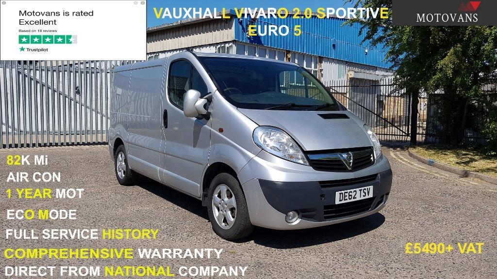 used Vauxhall Vivaro 2700 CDTI SPORTIVE P/V in middlesex